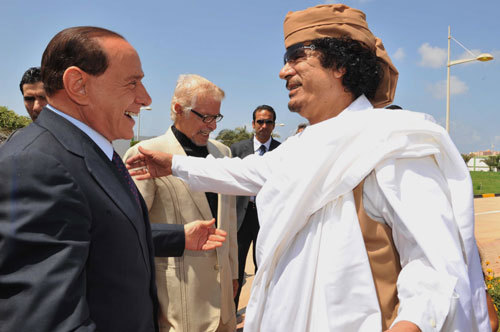 """Gheddafi show"" a Roma tra mille polemiche"