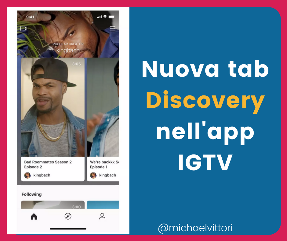 discovery igtv
