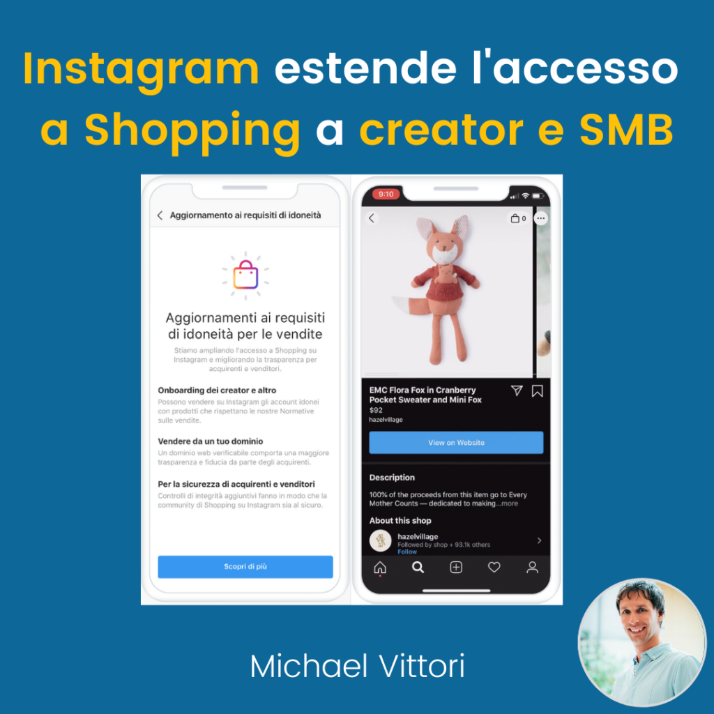 instagram shopping creator
