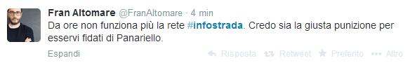 9  Twitter   Ricerca - #infostrada