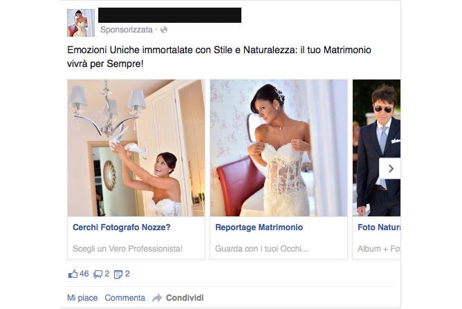 #CaseStudy Facebook ADS: Fotografo spende 121 euro e ne incassa più di 37000