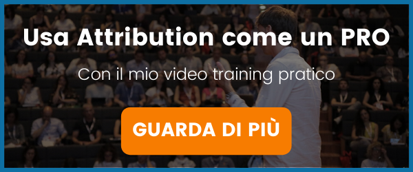 corso facebook attribution