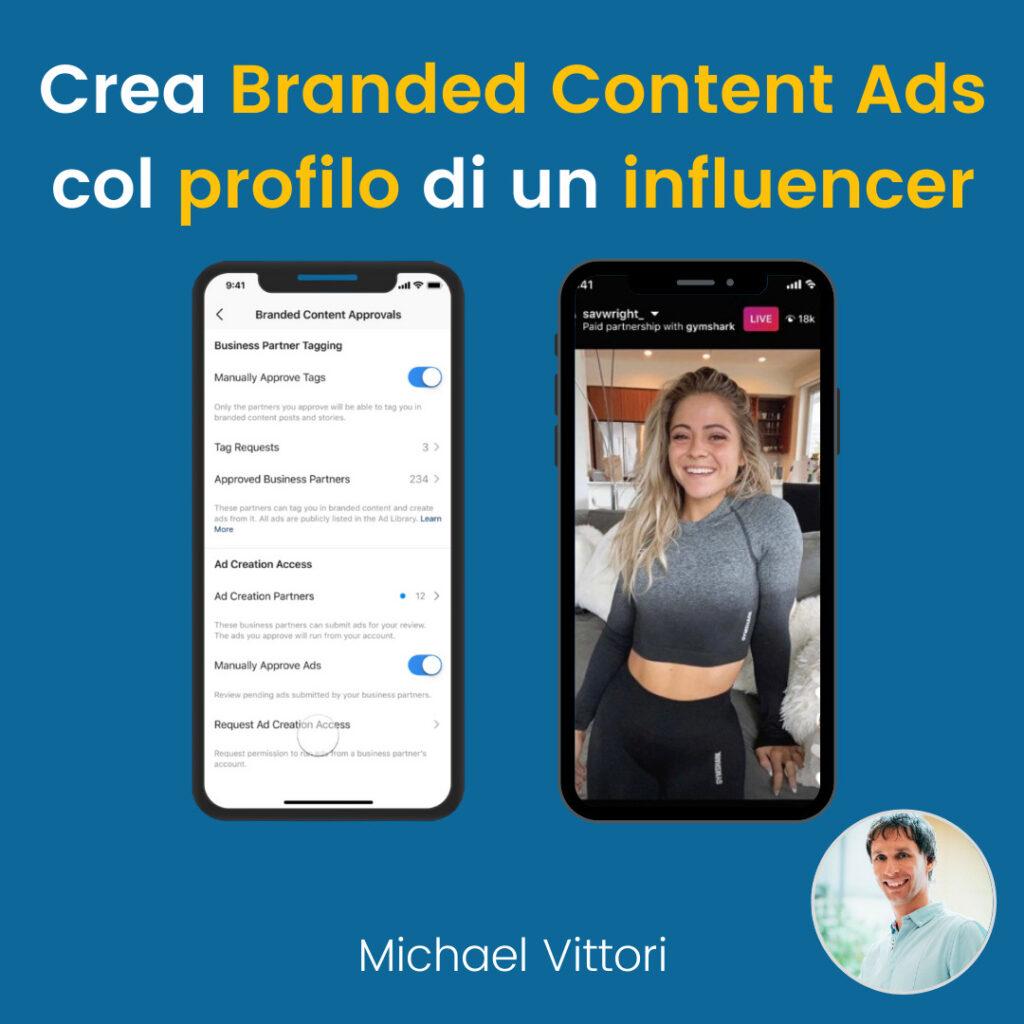 instagram branded content ads