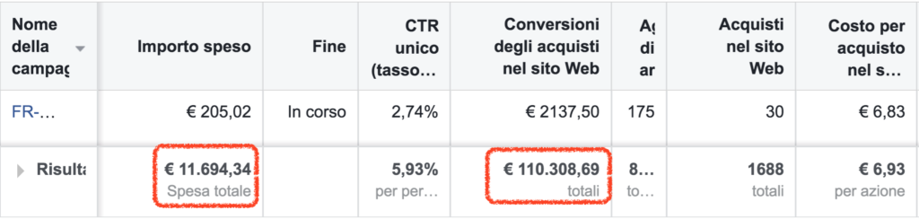 case study facebook ads ecommerce