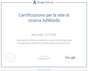 consulente certificato google adwords