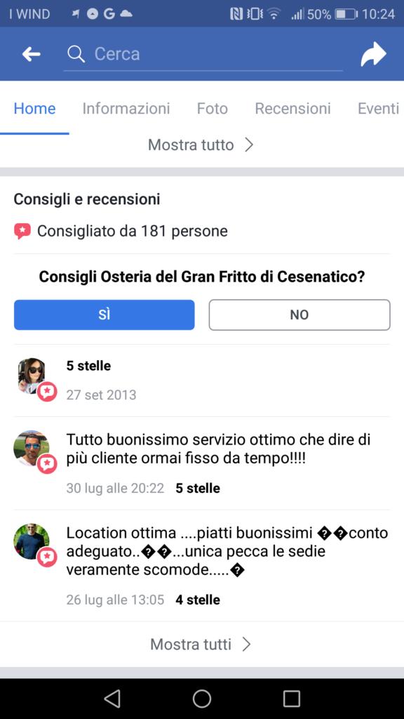 consigli facebook