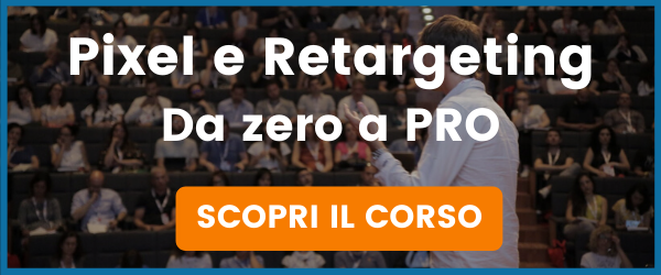 corso pixel retargeting facebook ads