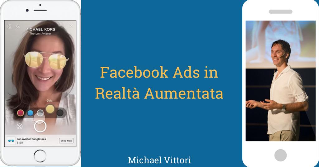 facebook ads realta aumentata ar