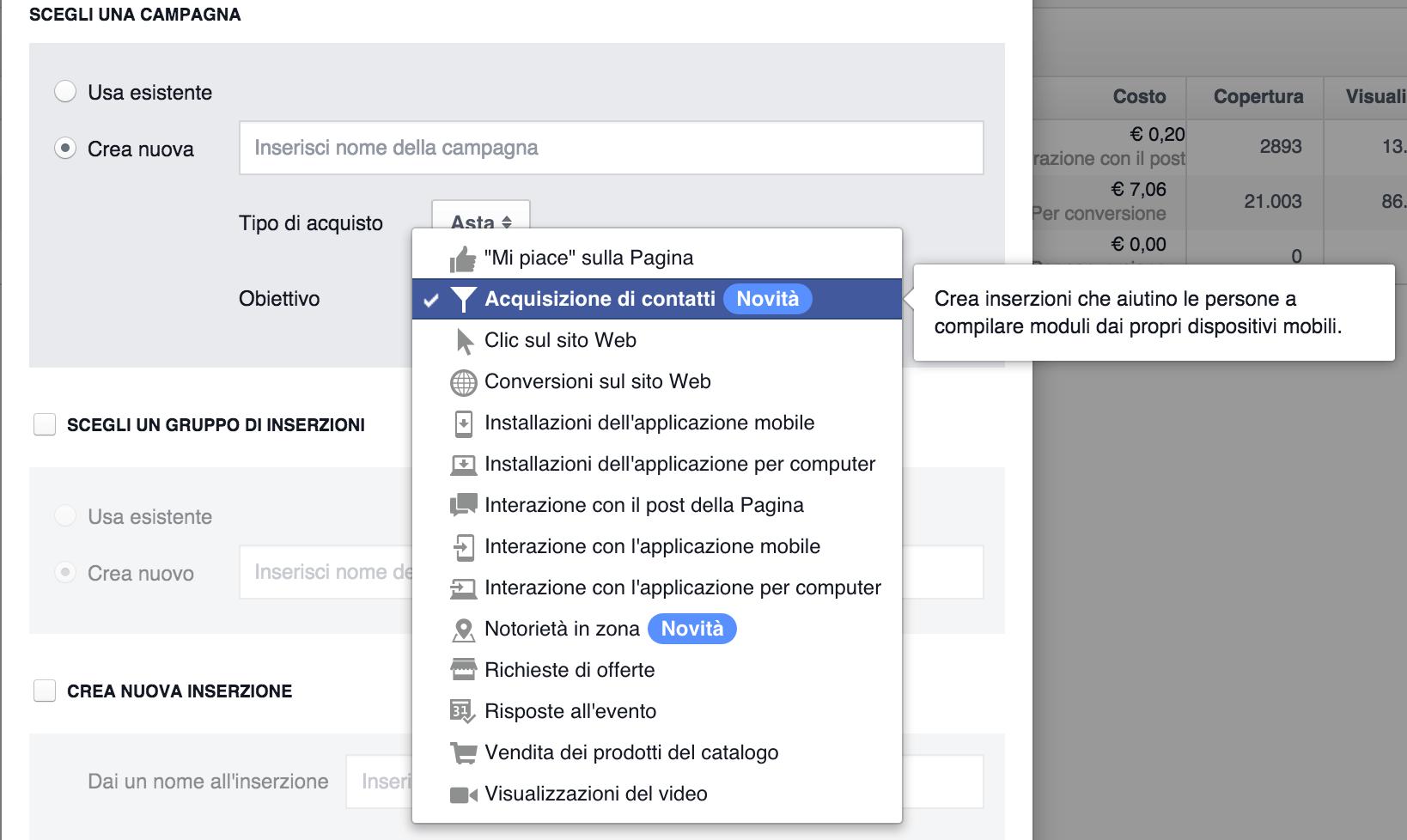 Facebook Lead Generation Ads: come acquisire potenziali clienti a 0,50 €