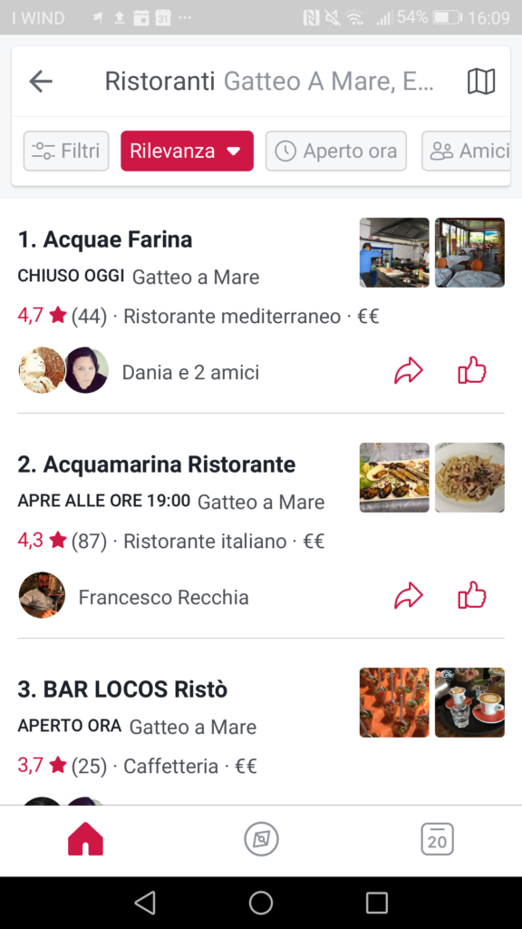 facebook local attività