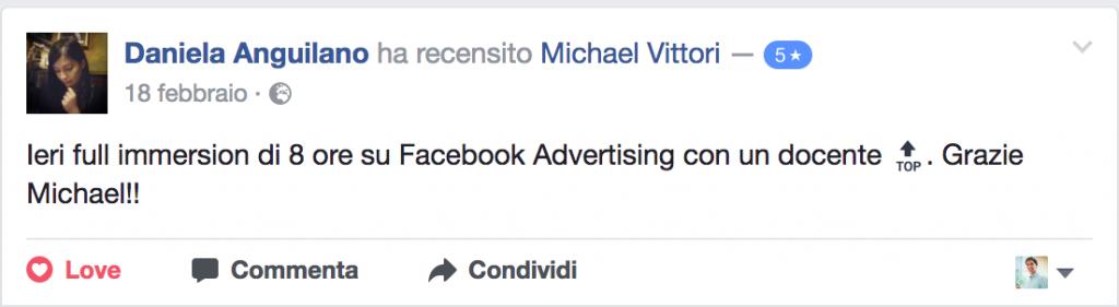 feedback corso fb ads