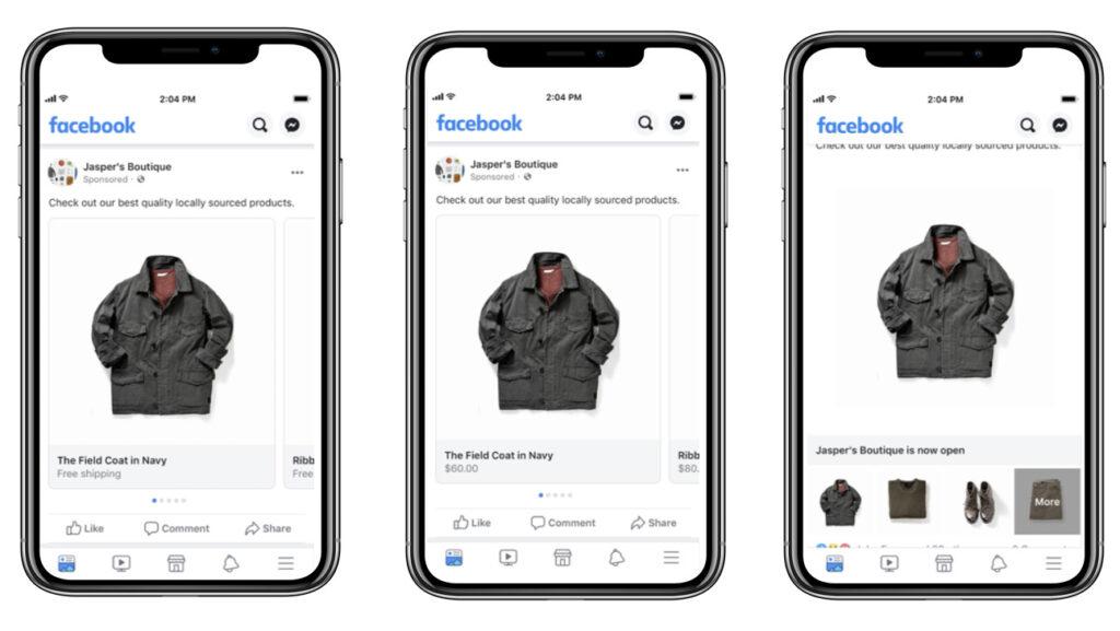 formati inserzioni dinamiche facebook ads