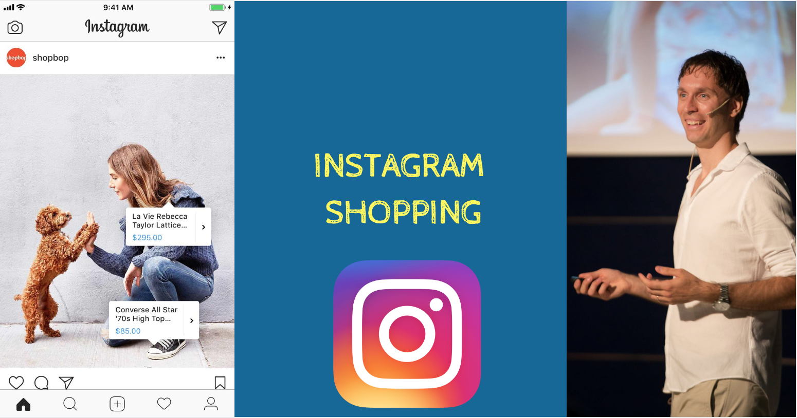 Lo Shopping sbarca su Instagram