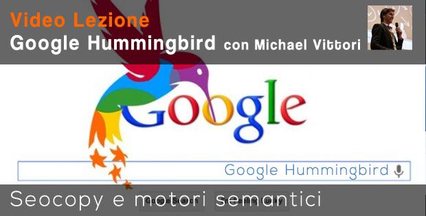 corso sul seo copywriting tra google hummingbird e semantica