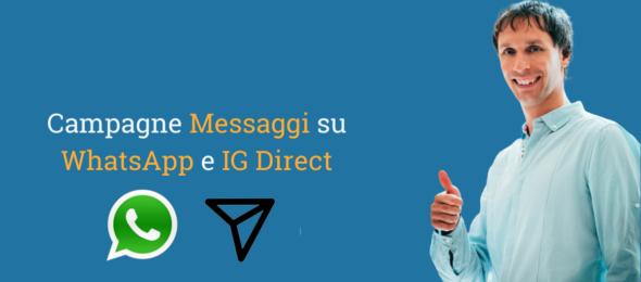 Campagne Messaggi su WhatsApp Business e Instagram Direct