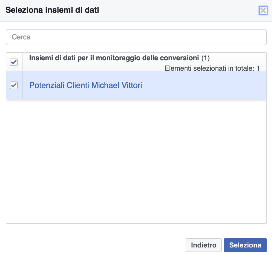 monitoraggio facebook