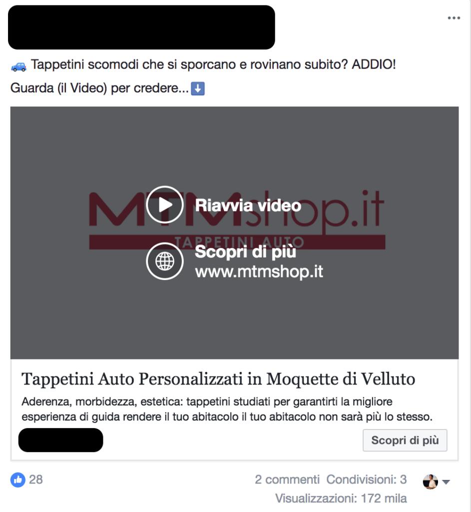 problema soluzione modello pas facebook