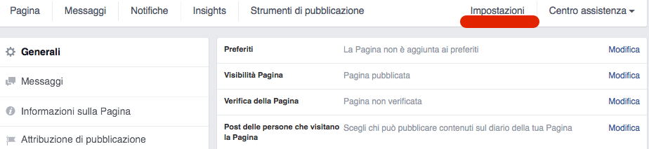 come verificare pagina facebook local