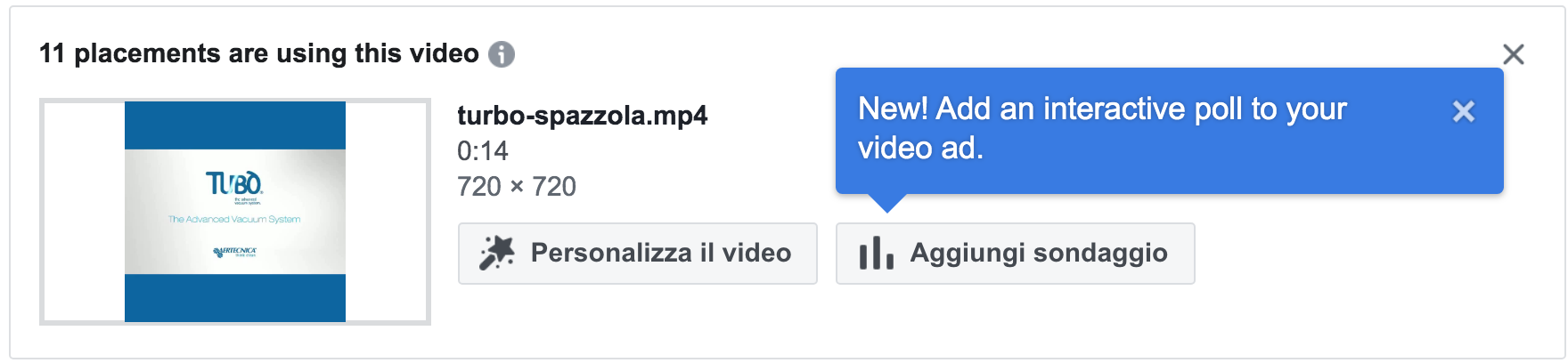 video poll ads facebook