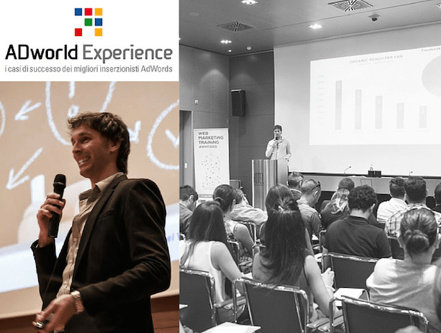 Sarò Relatore all'ADWorld Experience 2016, l'evento AdWords n° 1 d'Italia