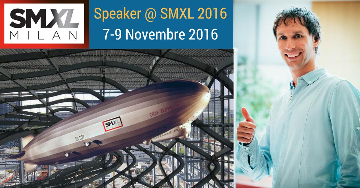 Sarò Speaker @ SMXL Milan 2016