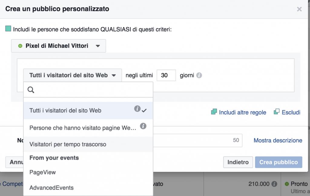 facebook pixel custom audiences