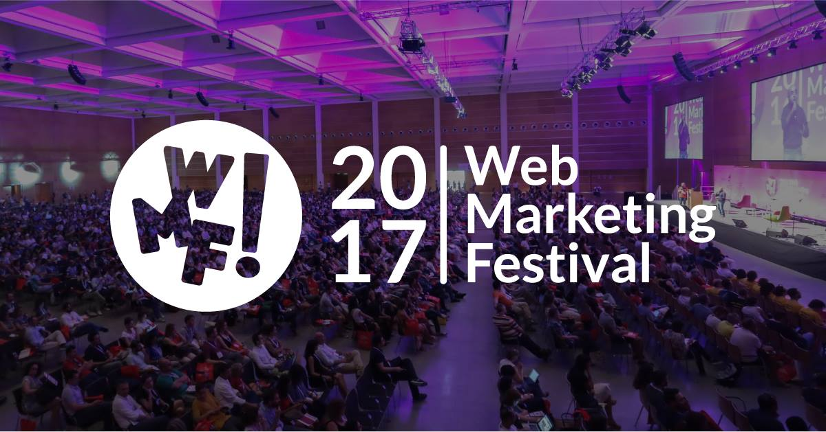 Sarò Moderatore della sala Facebook Ads al Web Marketing Festival 2017