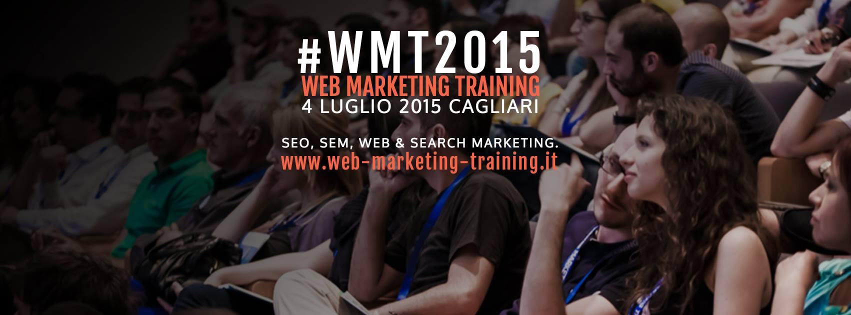 Anche quest'anno ci vediamo al WMT di Cagliari: vi parlerò dei Facebook Ads